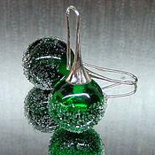 Украшения handmade. Livemaster - original item Earrings Morning dew lampwork. Handmade.