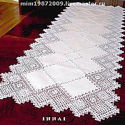 Для дома и интерьера handmade. Livemaster - original item Carpet, cloth, tablecloth lace with embroidery.. Handmade.