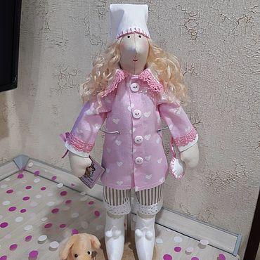 Куклы и игрушки ручной работы. Ярмарка Мастеров - ручная работа Тильды: Ангел снов - Сплюшка. Handmade.