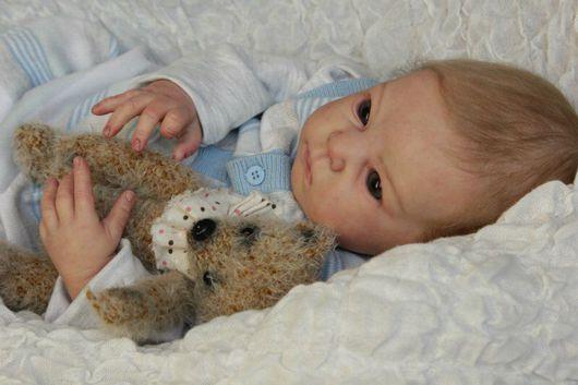Куклы-младенцы и reborn ручной работы. Ярмарка Мастеров - ручная работа. Купить Малыш Дмитрий. Handmade. Кукла реборн, генезис