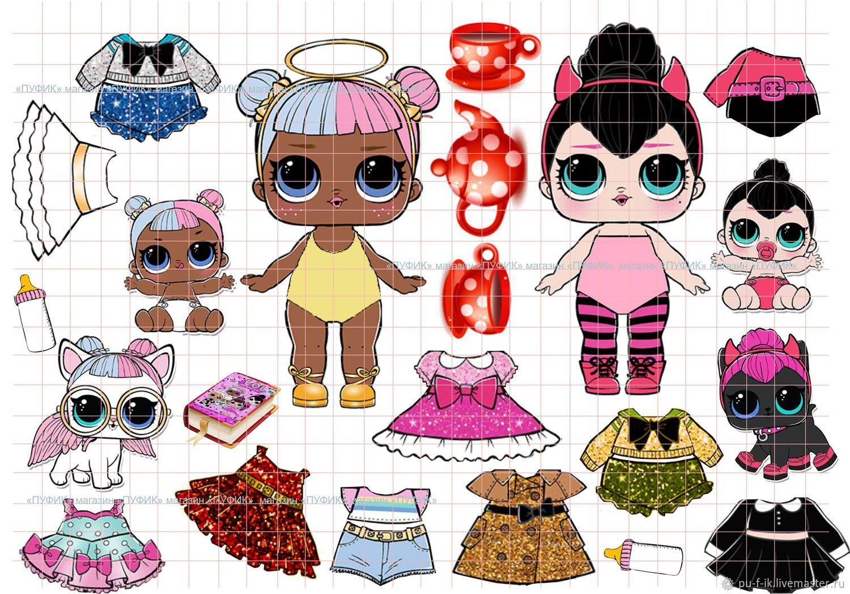 картинки кукол для распечатки цветные получая