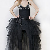 Одежда ручной работы. Ярмарка Мастеров - ручная работа Шлейфы из фатина, юбки - пачки. Handmade.