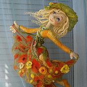 """Куклы и игрушки ручной работы. Ярмарка Мастеров - ручная работа Авторская кукла """"Танец Солнечного Лета"""".. Handmade."""