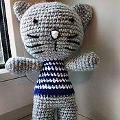 Куклы и игрушки ручной работы. Ярмарка Мастеров - ручная работа Вязанная игрушка Котики KITTY. Handmade.