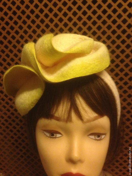 Шляпы ручной работы. Ярмарка Мастеров - ручная работа. Купить СПЕЛЫЙ АВОКАДО. Handmade. Бежевый, шляпка