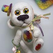 Куклы и игрушки handmade. Livemaster - original item Felted movable dog-romantic Paul. Handmade.