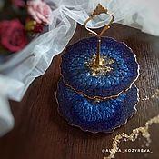 Сувениры и подарки handmade. Livemaster - original item Two-tier vase