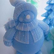 Snowmen handmade. Livemaster - original item Snowman big and good handmade gift box. Handmade.