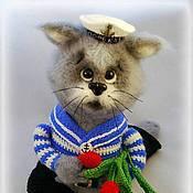Куклы и игрушки handmade. Livemaster - original item Cat Morecat. Handmade.