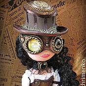 """Куклы и игрушки ручной работы. Ярмарка Мастеров - ручная работа Коллекционная кукла. Авторская кукла из ФОМа """"Леди в стиле Стимпанк"""". Handmade."""