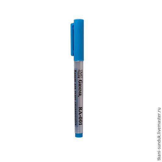 Шитье ручной работы. Ярмарка Мастеров - ручная работа. Купить RA-001 Маркер смывающийся голубой. Handmade. Сундук