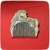 Сувениры и подарки handmade. Livemaster - original item Wooden Horse Hair Comb. Handmade.