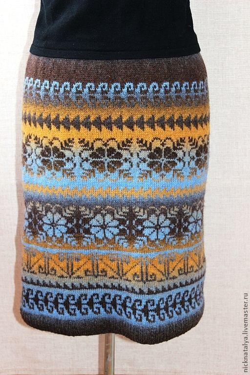 """Юбки ручной работы. Ярмарка Мастеров - ручная работа. Купить Юбка вязаная """"На лепестках цветов написано посланье"""". Handmade."""