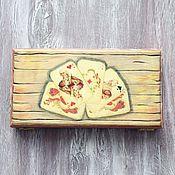 Сувениры и подарки handmade. Livemaster - original item Copernica for men Playing cards. Handmade.