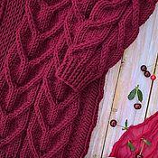 Материалы для творчества handmade. Livemaster - original item Description knit textured cardigan. Handmade.