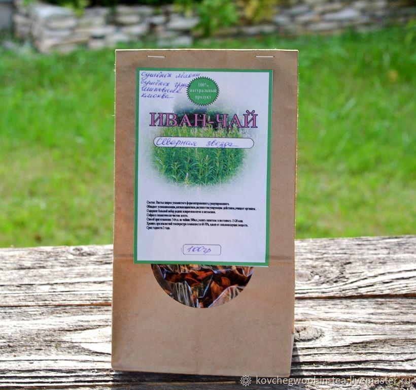 Иван-чай ферментированный Северная звезда 100гр, Травы, Торжок,  Фото №1