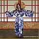 Фото кимоно из натурального шёлка.