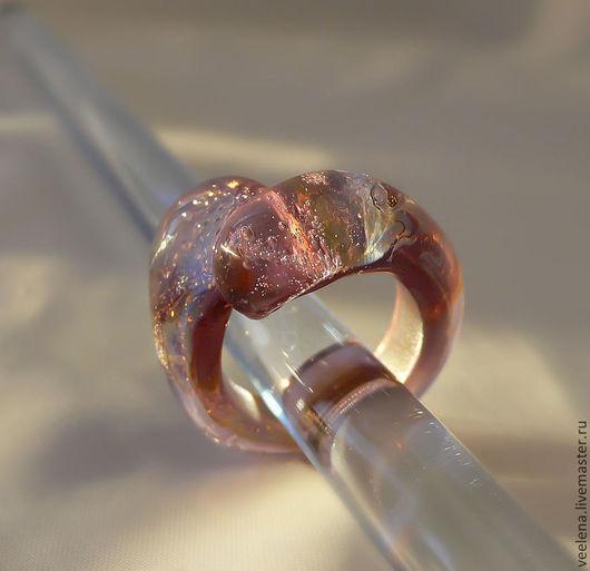 """Кольца ручной работы. Ярмарка Мастеров - ручная работа. Купить Кольцо """"Туманность"""". Handmade. Фиолетовый, кольцо ручной работы"""