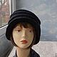 """Шляпы ручной работы. шляпка-трансформер  """"Белинда"""". ZIMa    (Ирина)          FeltHouse. Ярмарка Мастеров. Валяная шляпа, женские шляпы"""
