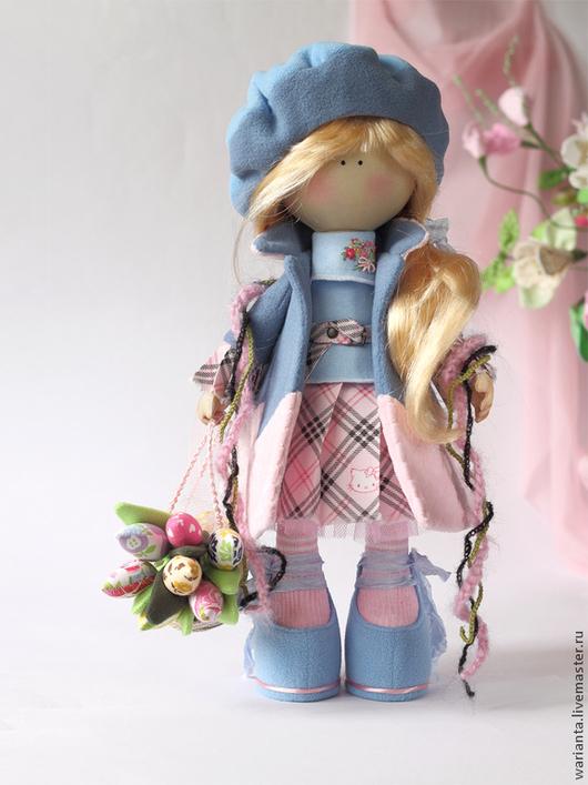 Коллекционные куклы ручной работы. Ярмарка Мастеров - ручная работа. Купить Марта. Кукла текстильная. Большеногая девочка.. Handmade. Куклы