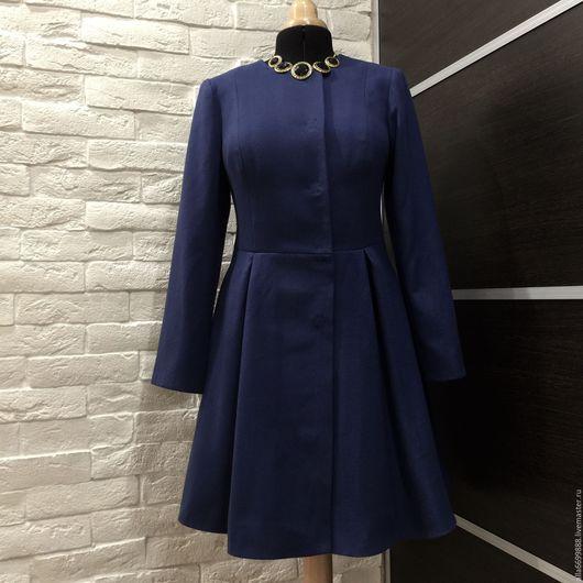 Верхняя одежда ручной работы. Ярмарка Мастеров - ручная работа. Купить Пальто-платье. Handmade. Пальто, славянский