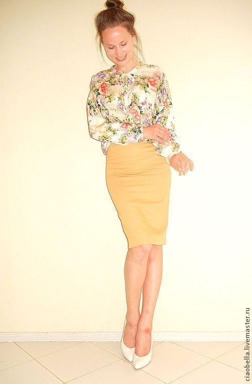 """Блузки ручной работы. Ярмарка Мастеров - ручная работа. Купить Блузочка воздушная """"Lourdes"""". Handmade. Цветочный, блузка с принтом"""