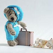 Куклы и игрушки ручной работы. Ярмарка Мастеров - ручная работа Мишка Вязаный  Путешественник. Handmade.