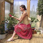Одежда ручной работы. Ярмарка Мастеров - ручная работа Плетеный корсет. Handmade.