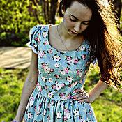 """Одежда ручной работы. Ярмарка Мастеров - ручная работа Платье """"Аромат цветов"""". Handmade."""