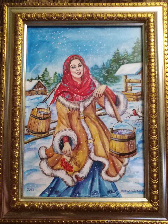 Картина копия, акварелью,40*30, Картины, Москва,  Фото №1