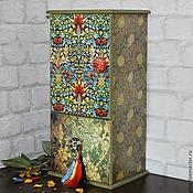 Для дома и интерьера ручной работы. Ярмарка Мастеров - ручная работа MORRIS шкафчик для кухни. Handmade.