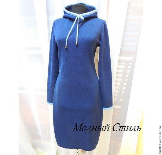 """Платья ручной работы. Ярмарка Мастеров - ручная работа. Купить Платье """" Герда"""". Handmade. Тёмно-синий"""