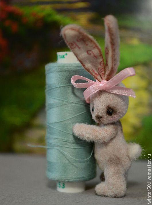 Мишки Тедди ручной работы. Ярмарка Мастеров - ручная работа. Купить Зайка Кроля. Handmade. Кремовый, в стиле мишек тедди