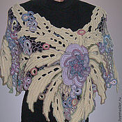 Аксессуары handmade. Livemaster - original item Cape Flora. Handmade.