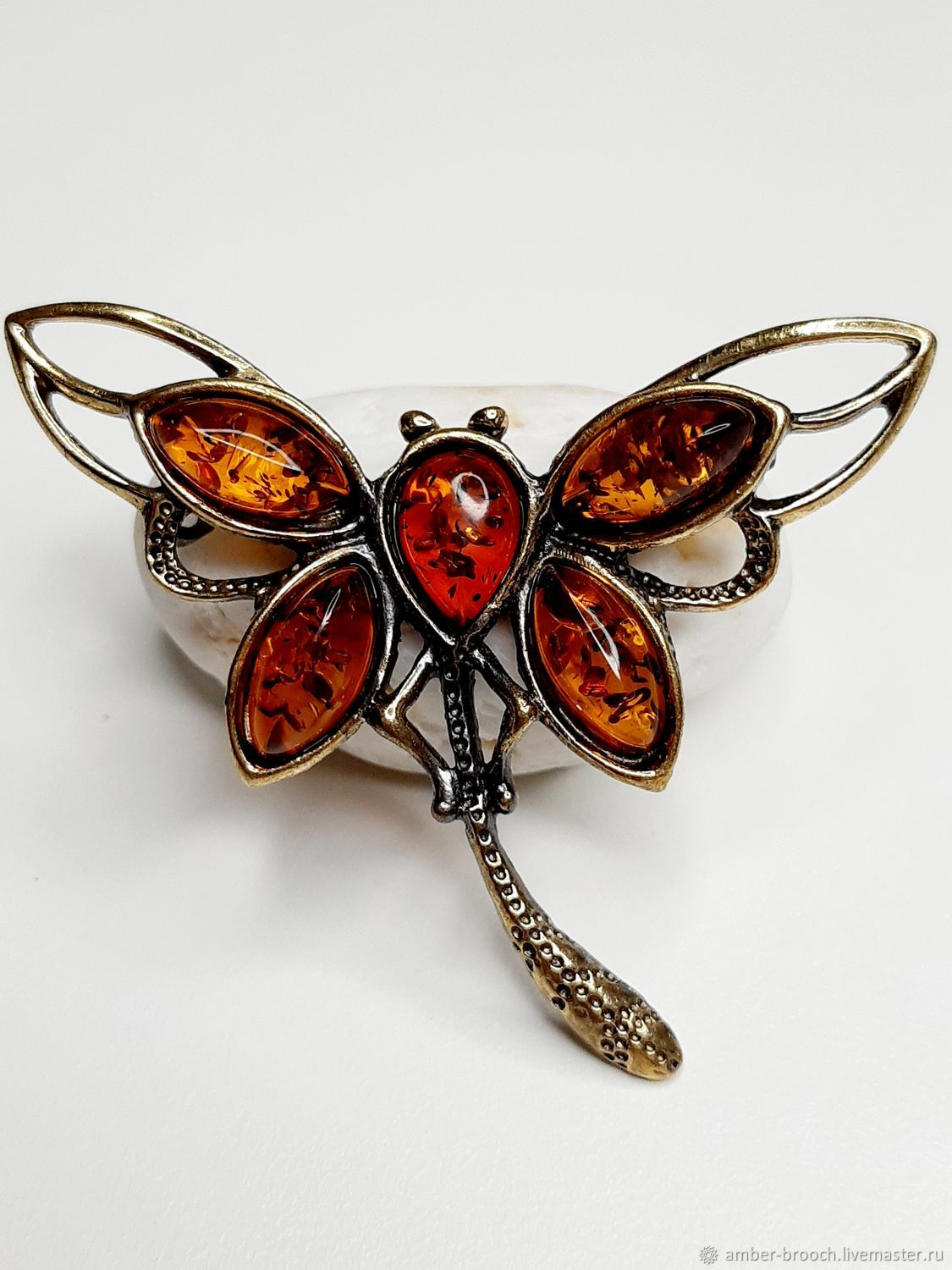 Dragonfly Grace Brooch, Brooches, Moscow,  Фото №1