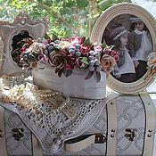 """Цветы и флористика ручной работы. Ярмарка Мастеров - ручная работа """"Летний винтаж"""". Handmade."""