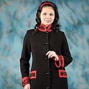 "Одежда handmade. Livemaster - original item Knitted coat ""Trendy vintage-2"". Handmade."