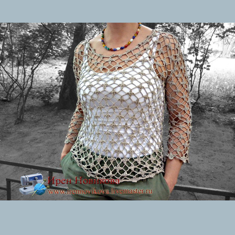 Blouse ' Summer', Shirts-nets, Moscow,  Фото №1