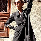 Одежда ручной работы. Ярмарка Мастеров - ручная работа Жакет Zipper Trench. Handmade.