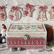 Подарки к праздникам ручной работы. Ярмарка Мастеров - ручная работа Набор Рождество. Handmade.