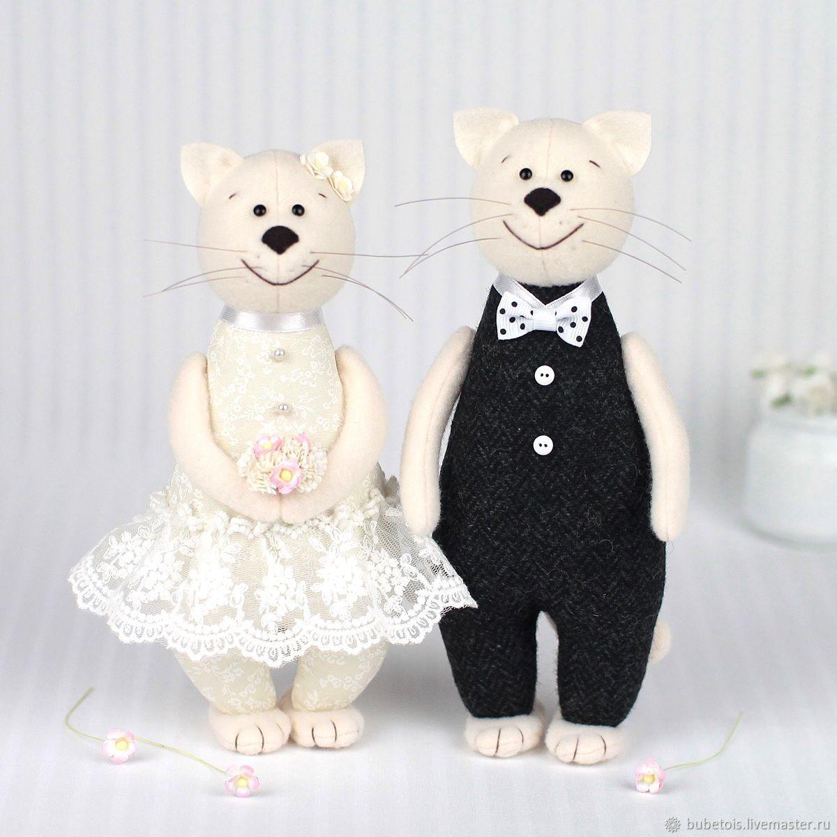 Подарок на свадьбу: Свадебные коты - символ домашнего очага, Подарки, Москва,  Фото №1