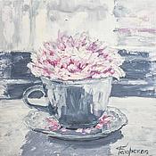 Картины и панно ручной работы. Ярмарка Мастеров - ручная работа Cup flower. Handmade.