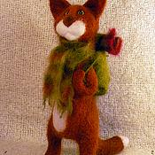 Куклы и игрушки ручной работы. Ярмарка Мастеров - ручная работа Кот уходит в теплые края. Handmade.