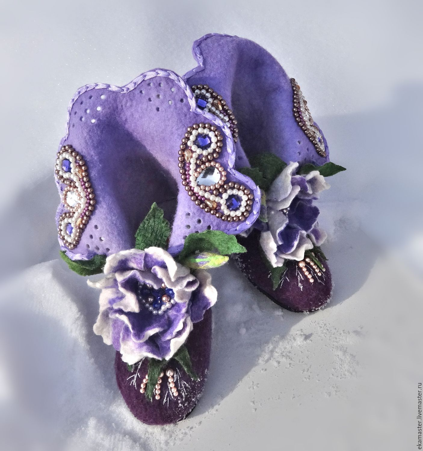 Boots for the house, 'Josephine 3', Slippers, Ekaterinburg,  Фото №1