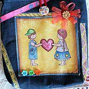 """Работы для детей, ручной работы. Ярмарка Мастеров - ручная работа Сумка для девочки """"Гаврош и Козетта"""". Handmade."""