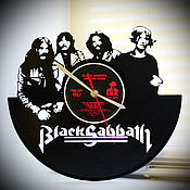"Для дома и интерьера handmade. Livemaster - original item Wall clock ""Black Sabbath"". Handmade."