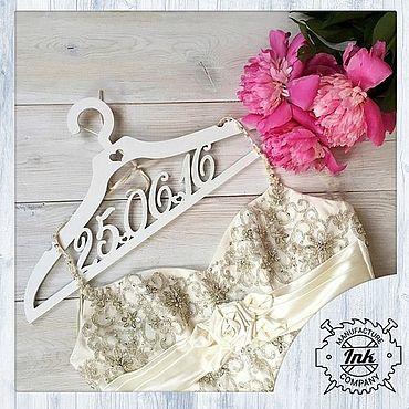 Свадебный салон ручной работы. Ярмарка Мастеров - ручная работа Вешалка для платья невесты. Handmade.