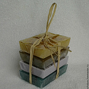 Косметика ручной работы handmade. Livemaster - original item Set soap Meadow grass. Handmade.