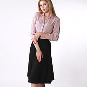 Одежда handmade. Livemaster - original item Jacquard skirt black. Handmade.