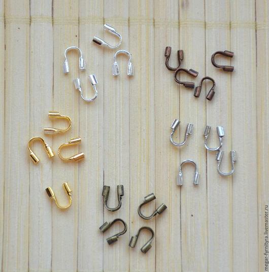 Для украшений ручной работы. Ярмарка Мастеров - ручная работа. Купить 10 шт.Защита ланки (тросика) от перетирания 5 мм. Handmade.